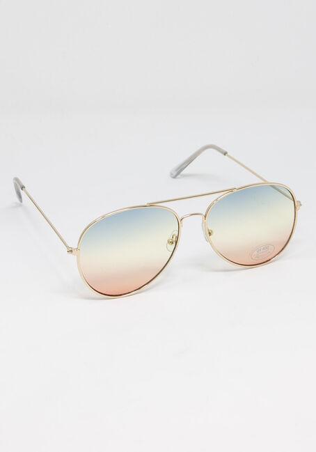 Women's Rainbow Lens Aviator