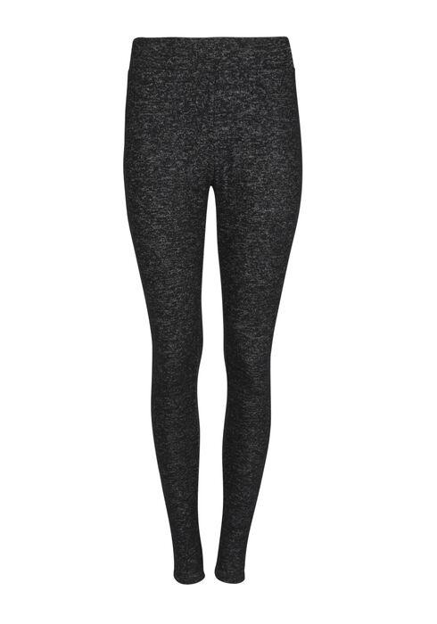 Ladies' Textured Legging, CHARCOAL, hi-res