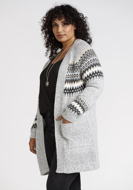 Womens' Fairisle Cardigan