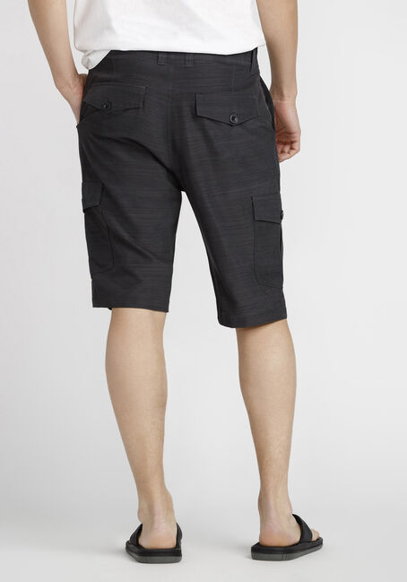 Men's Cargo Hybrid Short, BLACK, hi-res