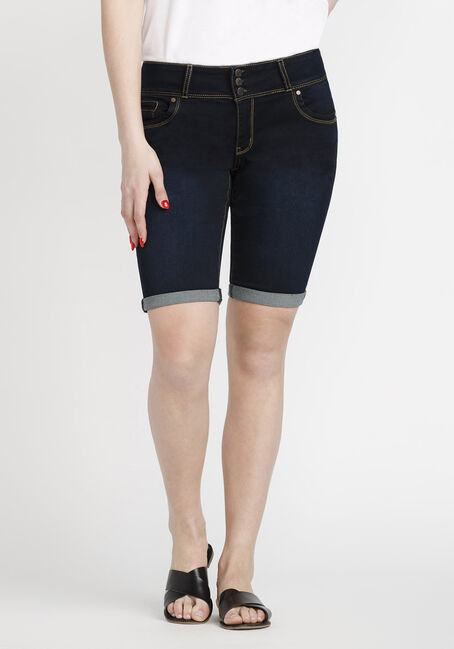 Women's Bermuda Jean Short