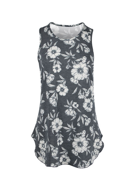 Ladies' Floral Tunic Tank