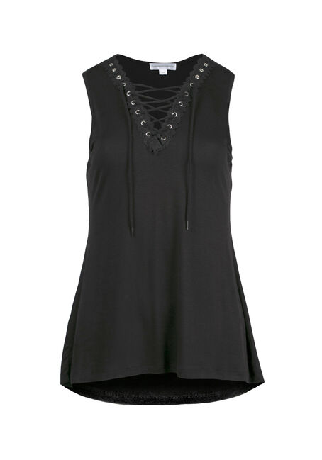 Women's Lace Up Tank