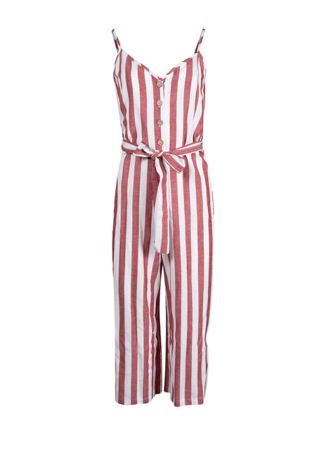 Women's Stripe Jumpsuit