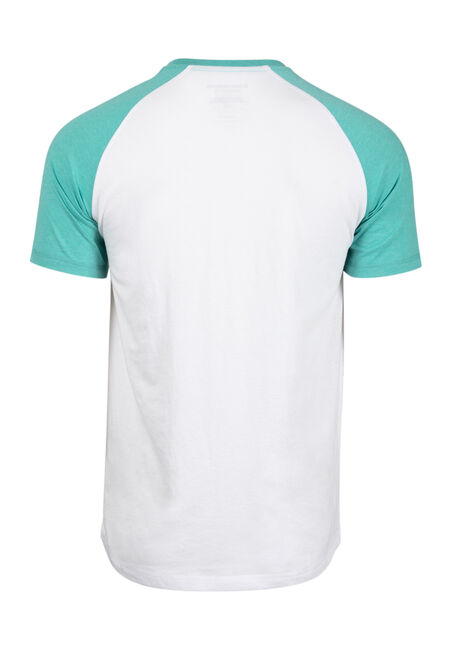Men's Everyday Striped Pocket Tee, AQUA GREEN, hi-res
