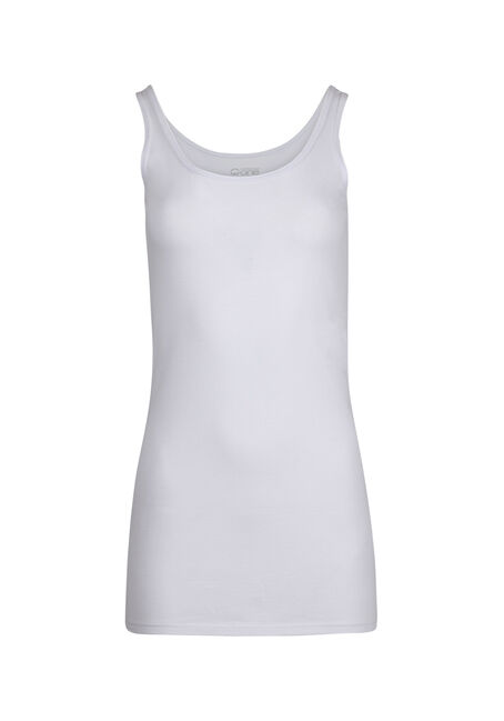 Ladies' Double Scoop Tunic Tank