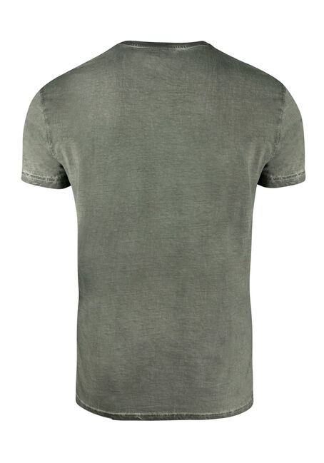 Men's Eagle Graphic Tee, DARK OLIVE, hi-res