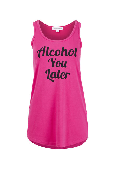 Womens' Alcohol You Later Tank