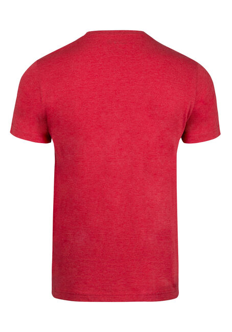 Men's True North Grizzly Tee, RED, hi-res