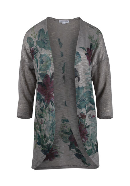 Women's Floral Cardigan