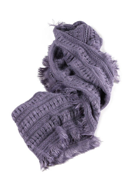Ladies' Soft Fringe Infinity Scarf