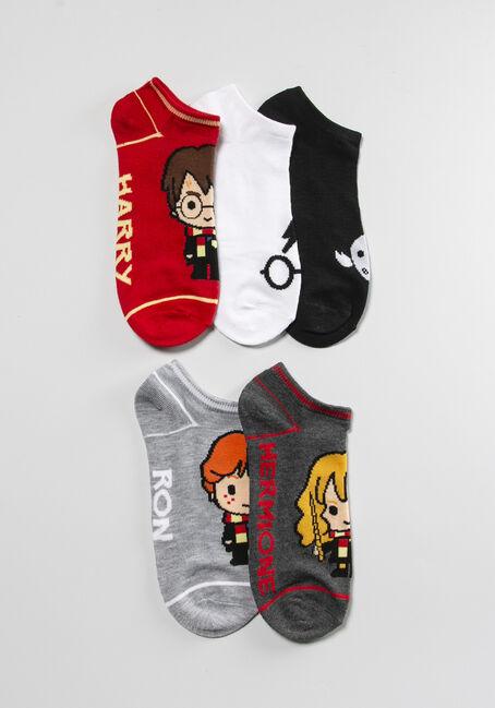 Women's 5 Pack Harry Potter Socks