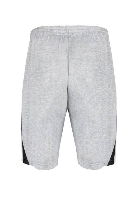 Men's Athletic Short, LIGHT GREY, hi-res