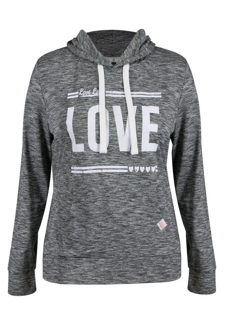 Ladies' Plus Size Love Popover Hoodie