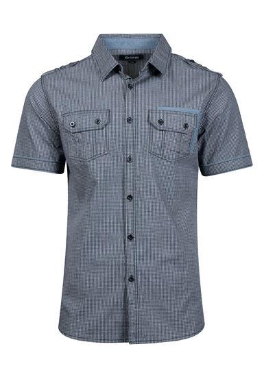 Men's Mini Check Shirt, , hi-res