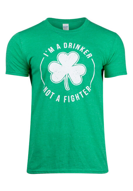 Men's Drinker Not A Fighter Tee