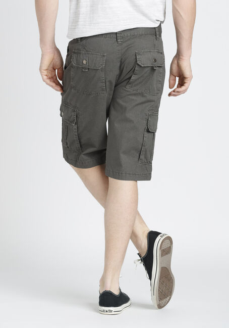 Men's Cargo Shorts, BROWN, hi-res
