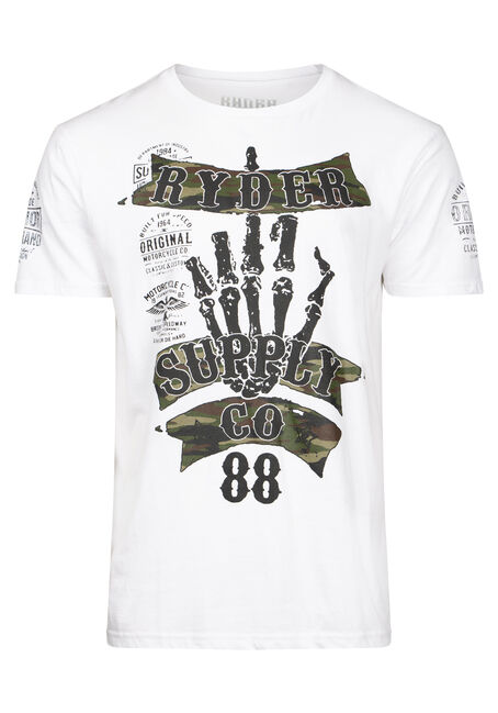 Men's Skeleton Camo Tee