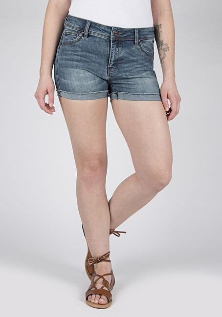 Ladies' Cuffed Not-So-Short Short