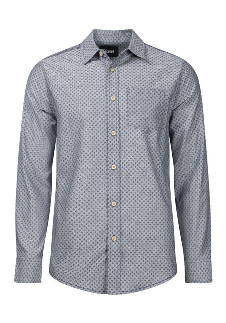 Men's Mini Dot Textured Shirt