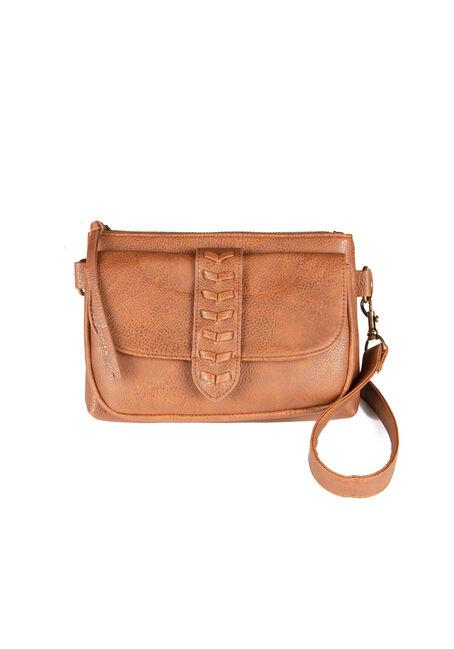 Women's Whip Stitch Cross Body Bag