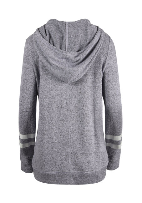 Ladies' Tulip Hem Football Hoodie, LAVENDER, hi-res