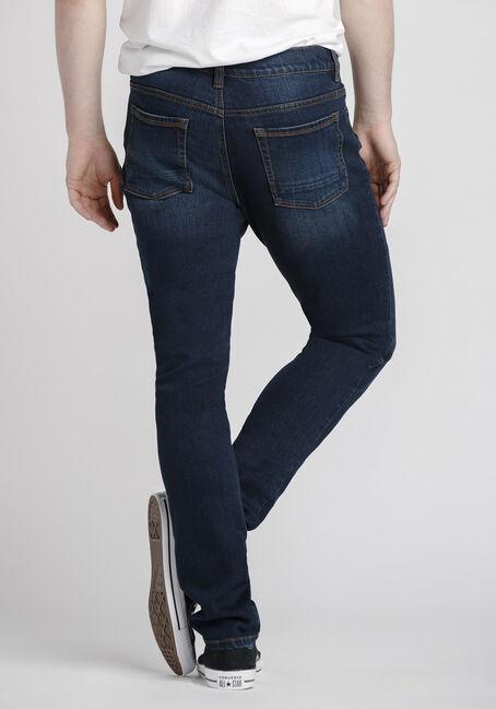 Men's Dark Indigo Skinny Jeans, DARK WASH, hi-res
