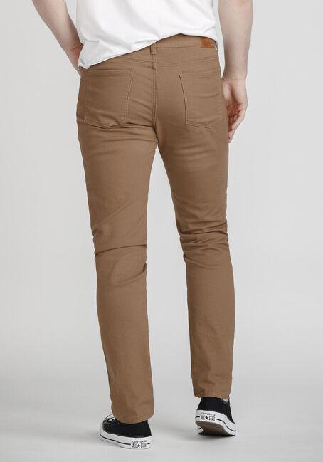 Men's Coloured Skinny Jeans, TOBACCO, hi-res