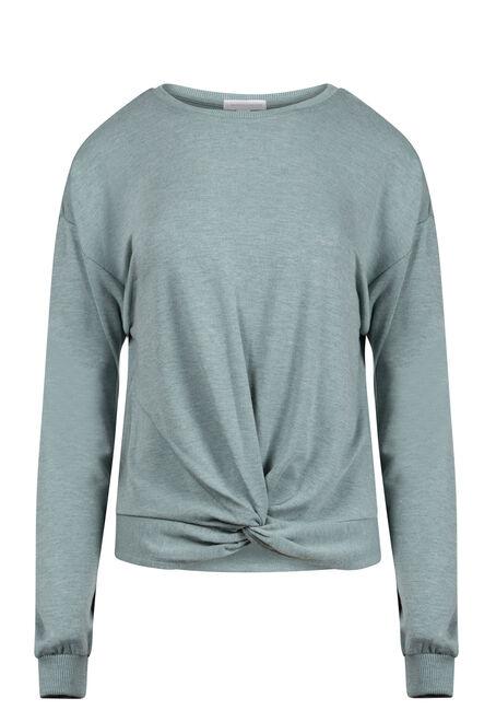 Women's Knot Front Sweatshirt