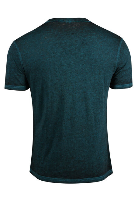 Men's Strong & Free Tee, AQUA, hi-res