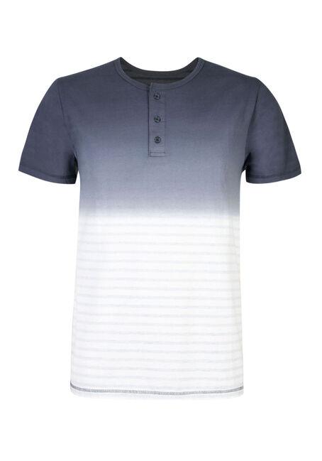 Men's Ombre Stripe Henley