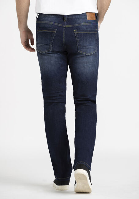 Men's Indigo Slim Fit Jeans, DARK WASH, hi-res