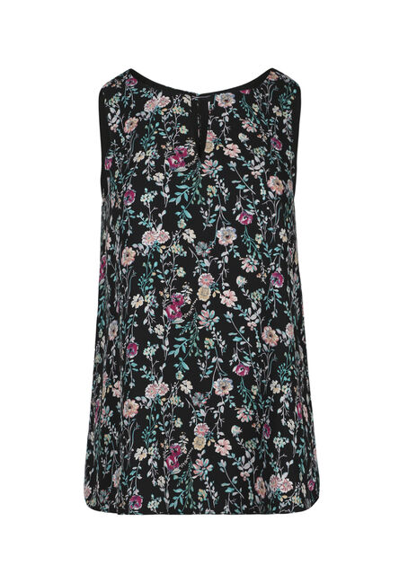 Ladies' Reversible Floral Tank