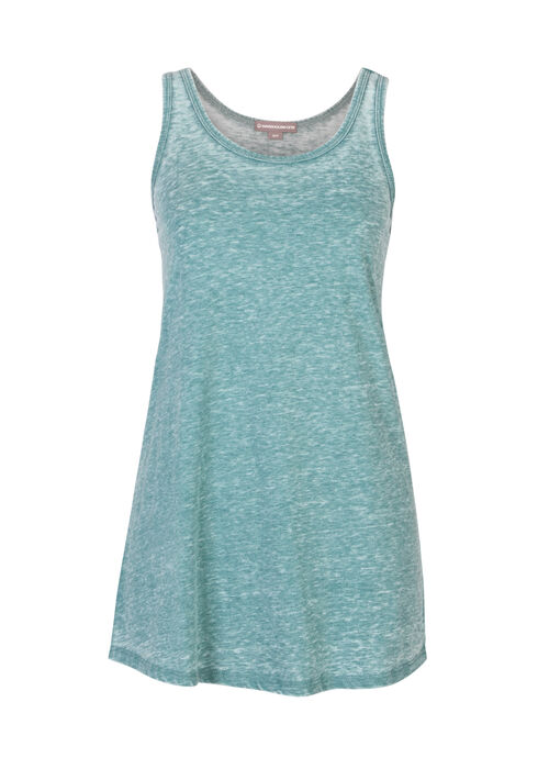 Ladies' Burnout Racerback Tank, JUNIPER, hi-res