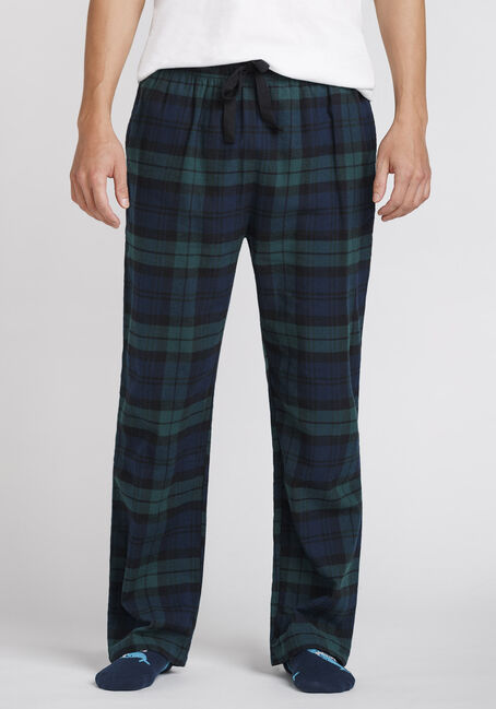 Men's Plaid Flannel Sleep Pant