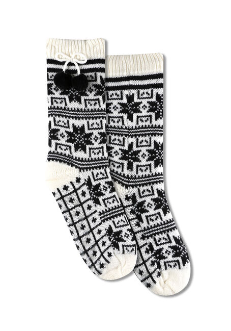 Ladies' Nordic Slipper Socks