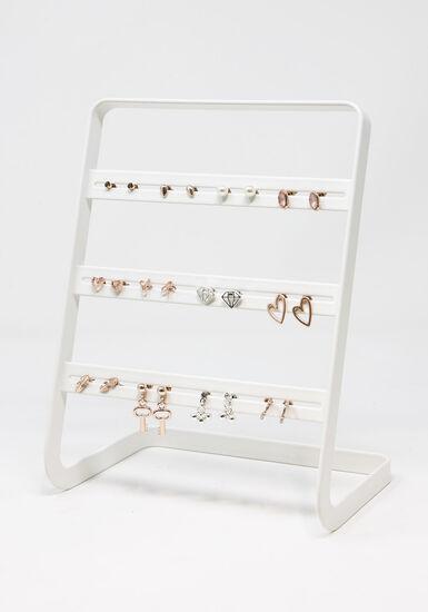 Women's 12 Pair Earring Set, MIXED METALS, hi-res