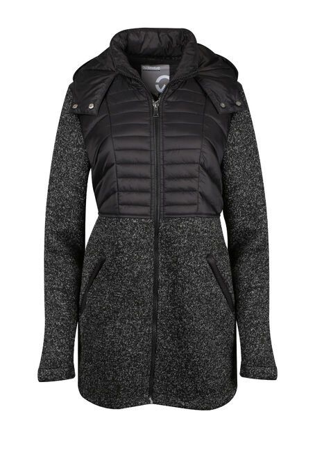 Ladies' Quilted Knit Jacket