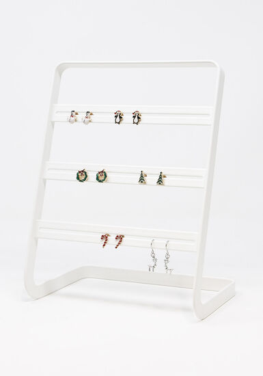 Women's 6 Pair Earring Set, MULTI, hi-res
