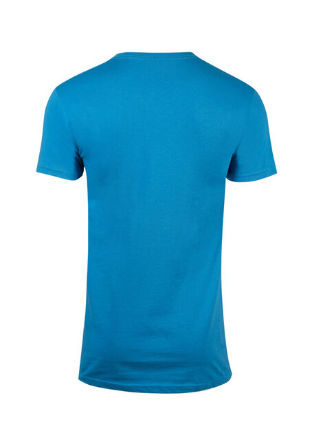 Men's Frosty The Snowman Tee, TURQUOISE, hi-res