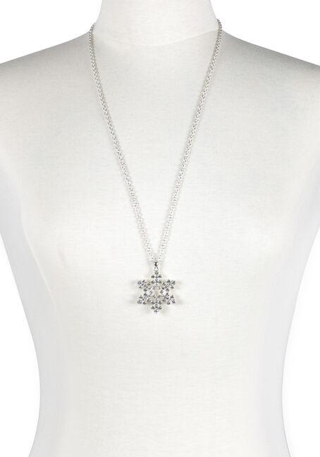 Ladies' Snowflake Necklace