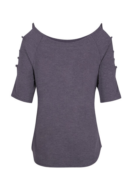 Women's Ladder Sleeve Tee, SD GRAPE, hi-res