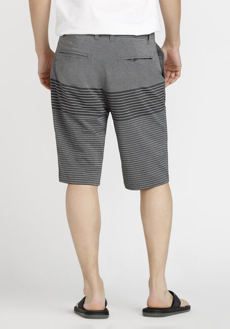 Men's Colour Block Hybrid Short, GREY, hi-res