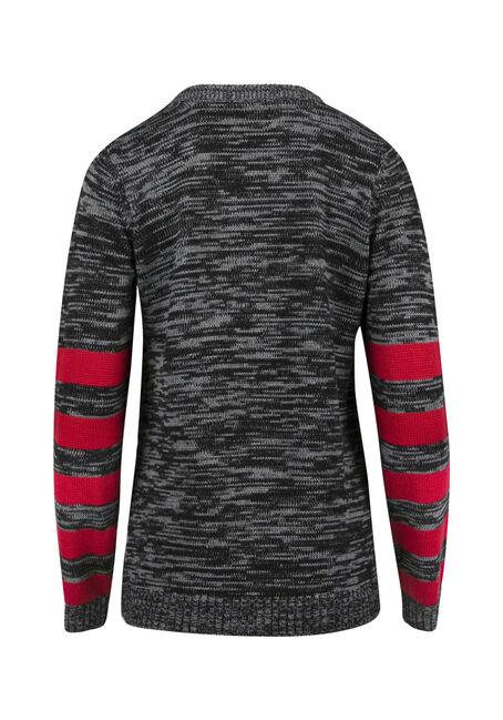 Ladies' Penguin Sweater, CHARCOAL MIX, hi-res