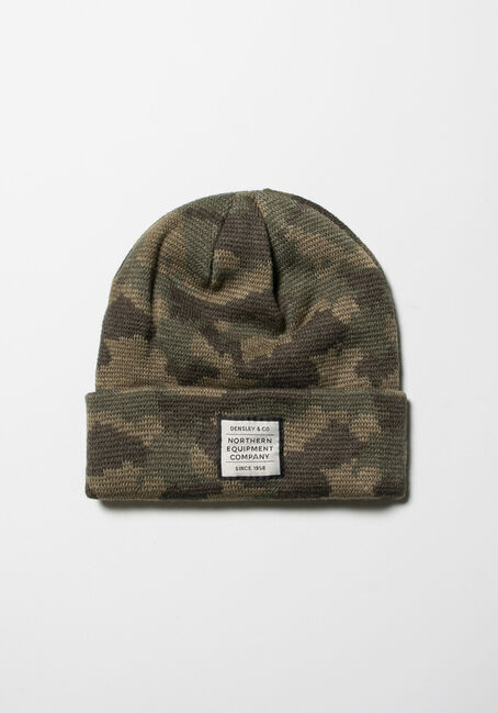 Men's Camo Ribbed Hat