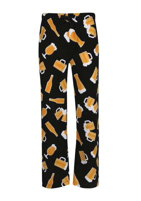 Men's Beer Glass Lounge Pants