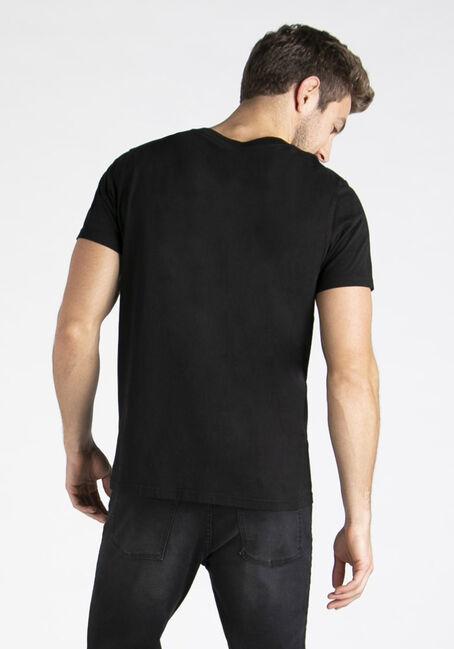 Men's Everyday V-neck Tee, BLACK, hi-res