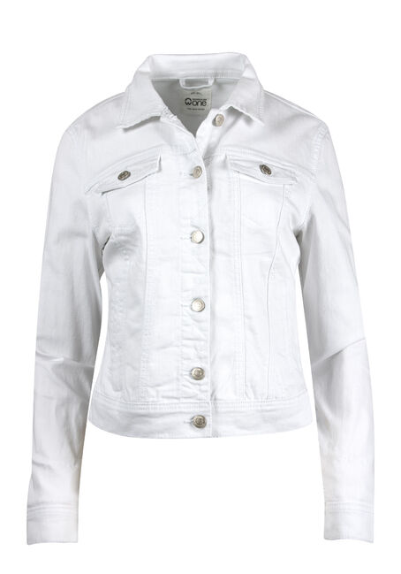 Women's White Jean Jacket