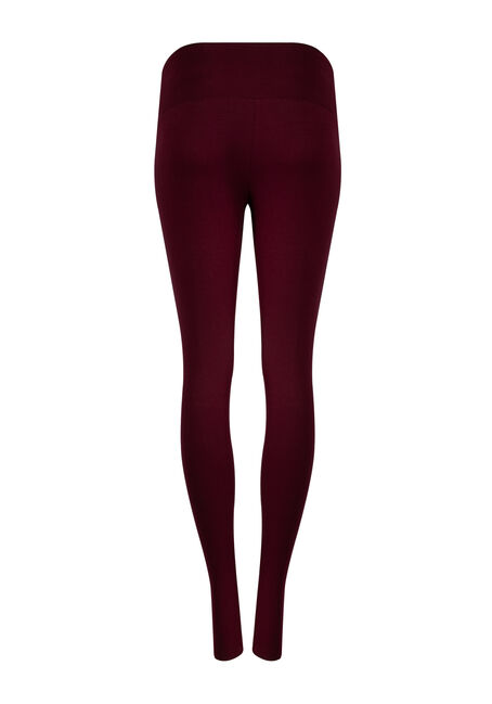 Women's Super Soft High Waist Legging, WINE, hi-res