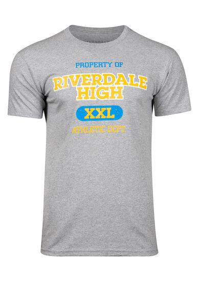 Men's Riverdale Tee, HEATHER GREY, hi-res